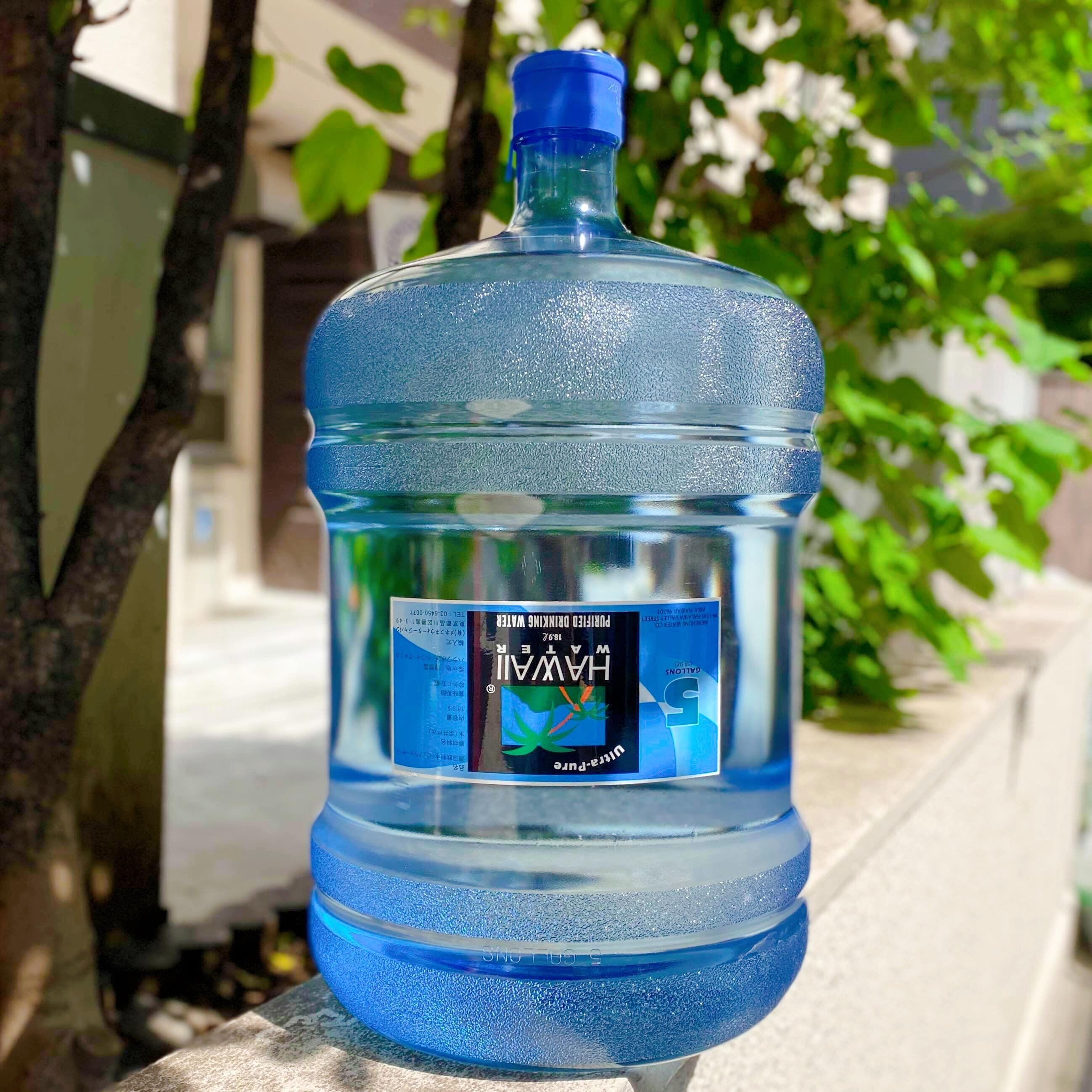 HAWAII WATER(5Gallons・18.9L)